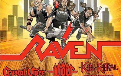 2021 European tour Announced with WOLF, CRYSTAL VIPER, KILL RITUAL & CYBER STRIKE